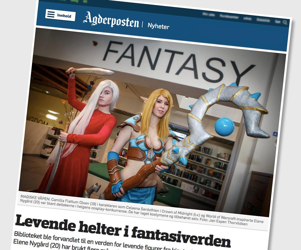 Faksimile Agderposten 2015